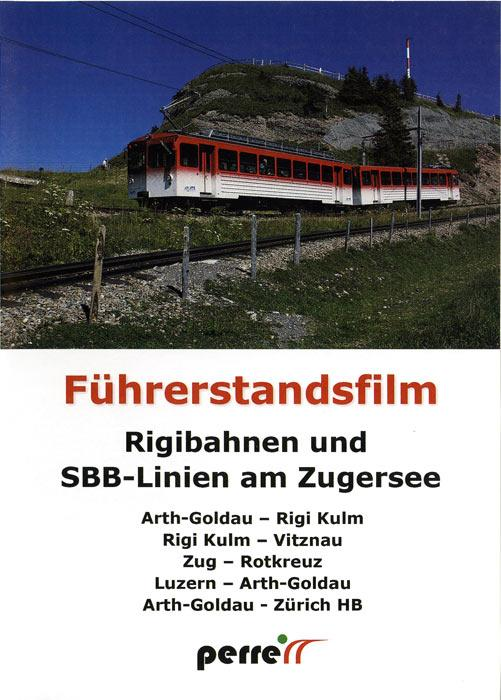 Rigi Railways and SBB Lines on Lake Zug
