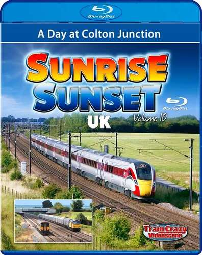 Sunrise Sunset Volume 10 - A Day at Colton Junction. Blu-ray