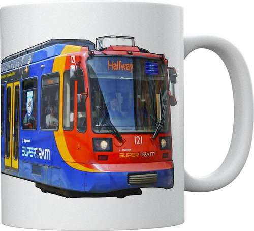 Light Rail Mug Collection - Sheffield Supertram Duewag