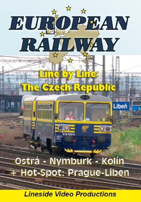 European Railway - Line by Line - The Czech Republic - Ostra-Nymburk-Kolin plus Hotspot - Prague-Liben