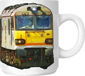 The Class 92 - Big Freight Mug Collection