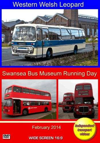 Western Welsh Leopard and Swansea Bus Museum Running Day 2014