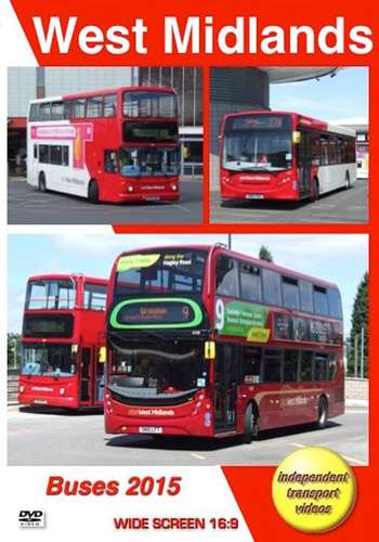 West Midlands Buses 2015