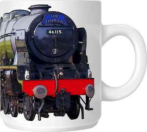 The Steam Mug Collection No2 - 46115 Scots Guardsman - The Fenman