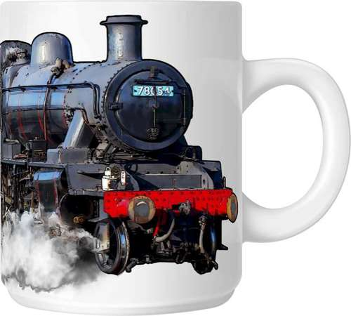 The Steam Mug Collection No 9 - BR Standard 2 No 78054