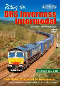Riding the DRS Inverness Intermodal - Cab Ride - Mossend to Inverness via the Highland Mainline