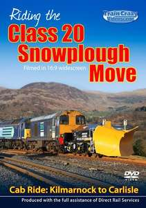 Riding the Class 20 Snowplough Move - Cab Ride - Kilmarnock to Carlisle