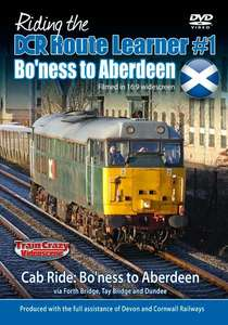 Riding the DCR Route Learner 1 - Bo'ness to Aberdeen