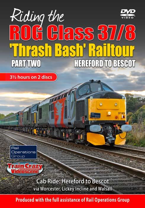 Riding the ROG Class 37-8 Thrash Bash Railtour - Part Two - Hereford to Bescot
