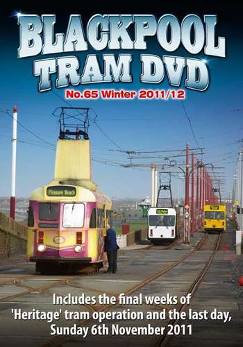 Blackpool Tram DVD 65 - Winter 2011/12