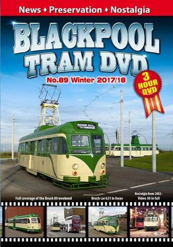 Blackpool Tram DVD No.89 - Winter 2017 - 2018