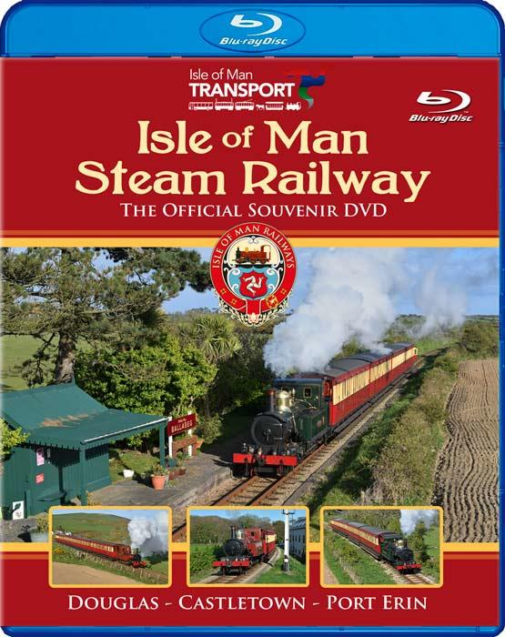 The Isle of Man Steam Railway - The Official Souvenir DVD - Blu-ray