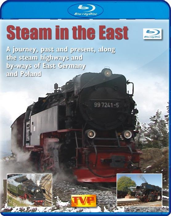 Steam in the East. Blu-ray