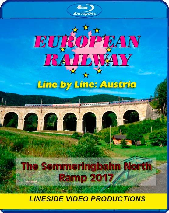 European Railway: Line by Line - Austria - The Semmeringbahn North Ramp - 2017 Blu-ray