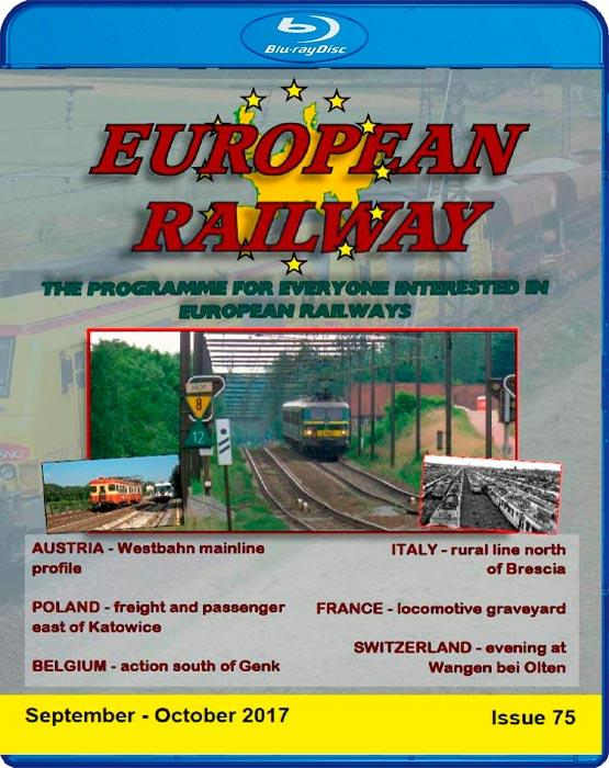 European Railway - Issue 75 - September - October 2017 - Blu-ray