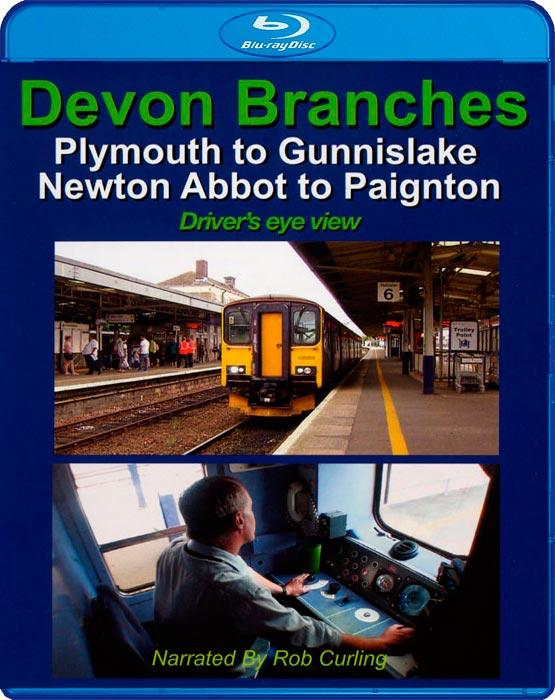 Devon Branches - Plymouth to Gunnislake - Newton Abbot to Paignton - Drivers Eye View - Blu-ray