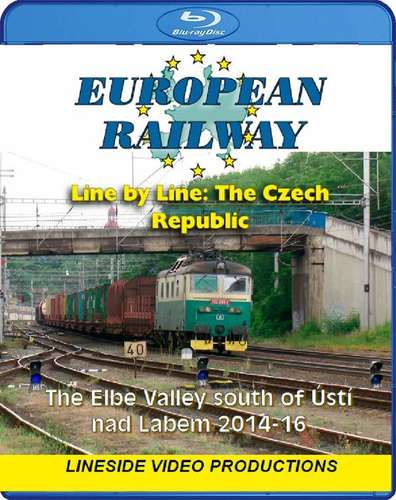 European Railway - Line by Line - The Czech Republic - The Elbe Valley south of Usti nad Labem 2014-16 - Blu-ray