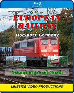 European Railway Hotspots - Germany - Gremberg Yard North - Blu-ray