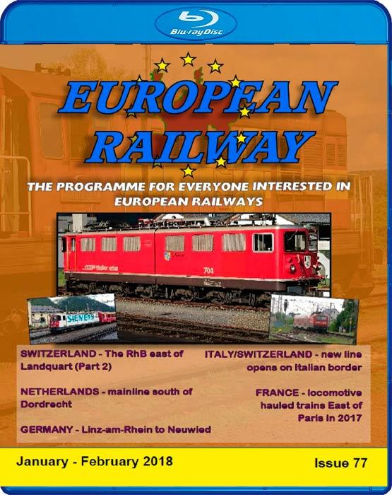 European Railway - Issue 77 - January - February 2018 - Blu-ray