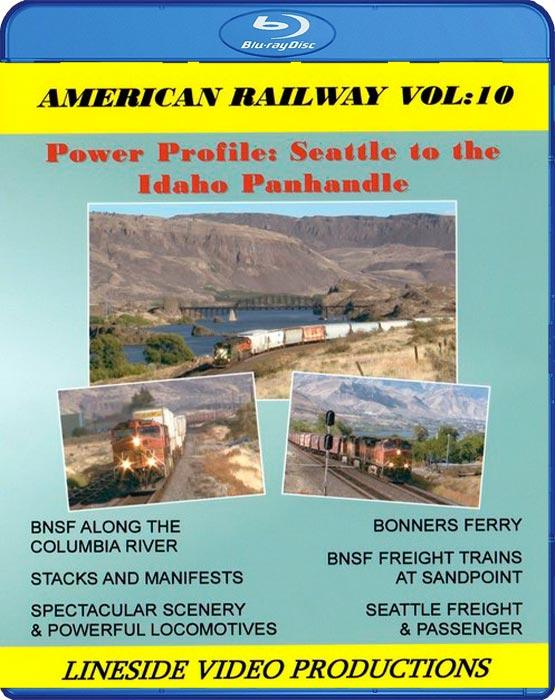 American Railway: Volume 10 - Seattle to the Idaho Panhandle. Blu-ray