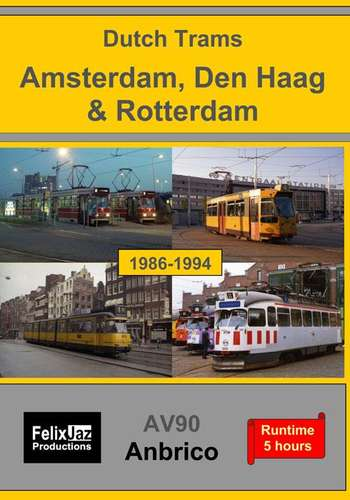 Dutch Trams - Amsterdam, Den Haag and Rotterdam 4 Disc Set