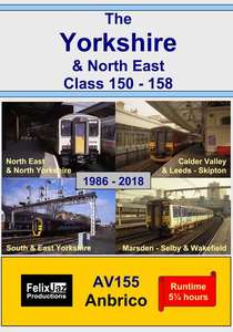 The Yorkshire and North East Class 150 - 158 - 4 Disc Set