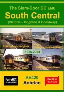 The Slam-door DC EMU South Central - Victoria - Brighton and Coastway - 4 Disc Set