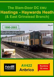 The Slam-door DC EMU Hastings - Haywards Heath and East Grinstead Branch