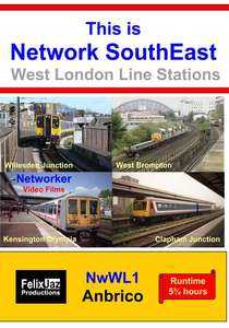 This is Network SouthEast - West London Line Stations
