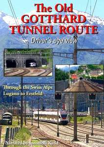 The Old Gotthard Tunnel Route - Driver's Eye View