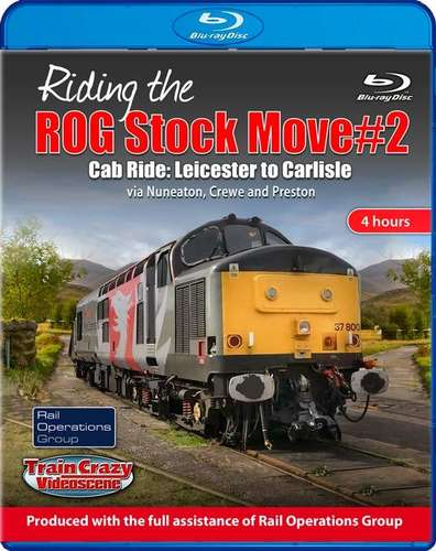 Riding the ROG Stock Move 2 - Cab ride. Blu-ray
