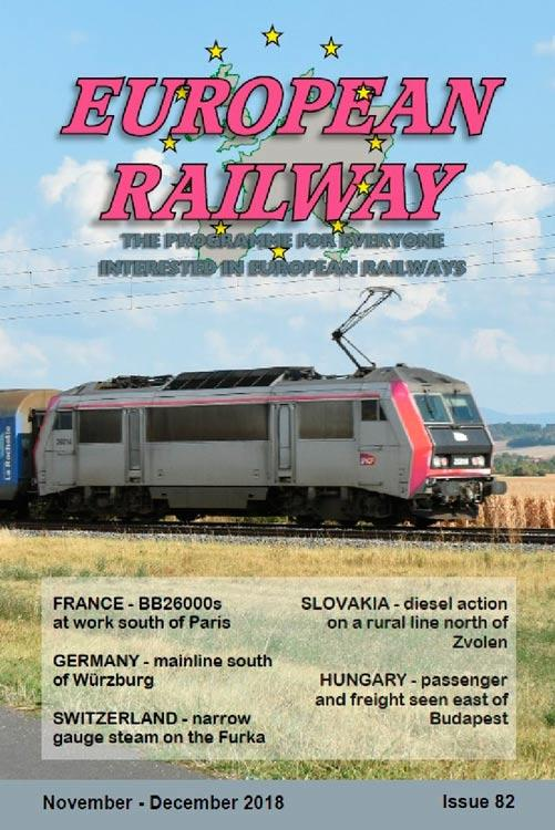 European Railway: Issue 82 - November - December 2018