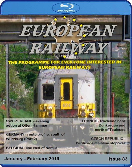 European Railway - Issue 83. Blu-ray