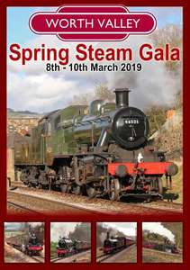 Keighley and Worth Valley Railway Spring Steam Gala 2019