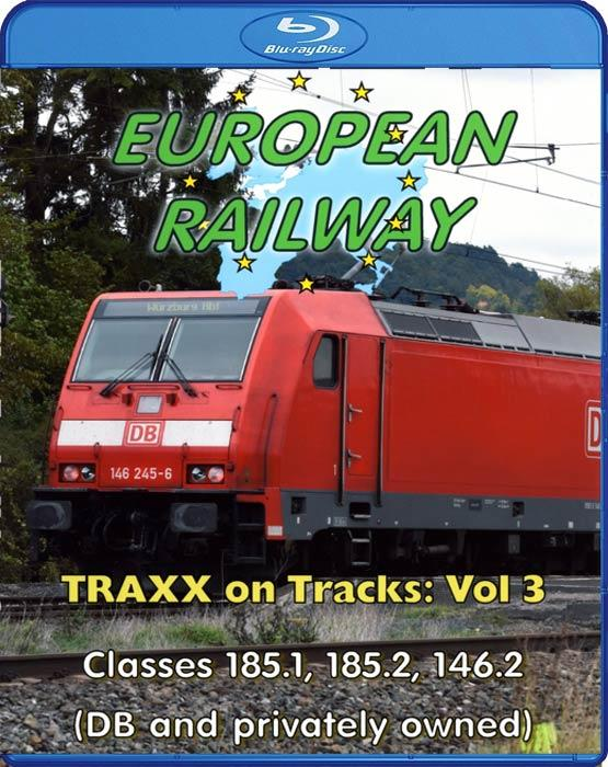 European Railway - TRAXX on Tracks - Volume 3. Blu-ray