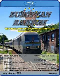 European Railway: Issue 86. Blu-ray