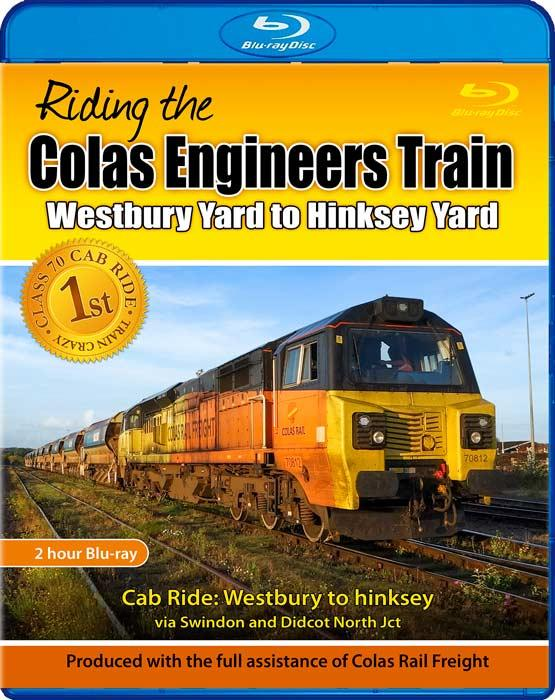 Riding the Colas Engineers Train. Blu-ray