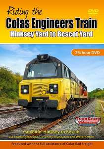 Riding the Colas Engineers Train: Hinksey Yard to Bescot Yard