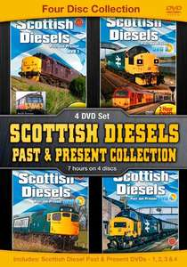 Scottish Diesels Past and Present Collection