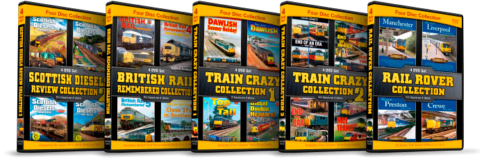 Train Crazy 4 Disc Collections