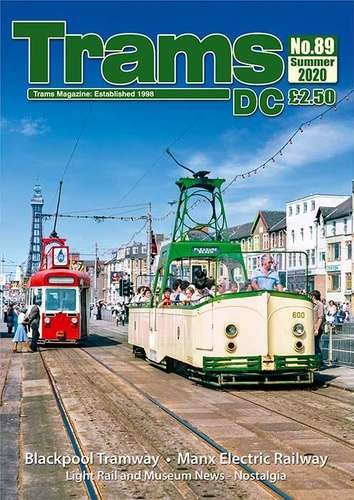 TRAMS DC Magazine 89 - Spring/Summer 2020