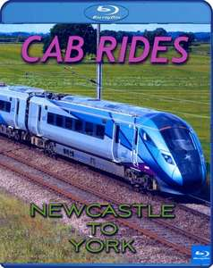Cab Rides: Newcastle to York. Blu-ray