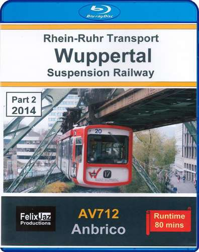 Wuppertal Suspension Railway Part 2 - 2014 - Blu-ray