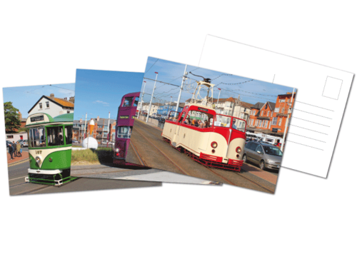 Blackpool Heritage Fleet Postcards
