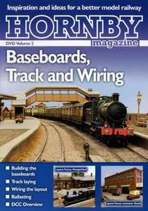 Hornby Magazine DVD Volume 2 - Baseboards, Track and Wiring