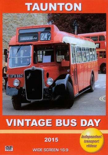 Taunton Vintage Bus Day 2015