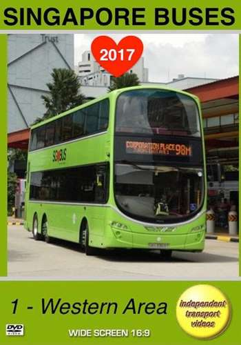 Singapore Buses 2017 - 1 - Western Area