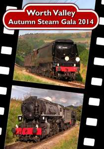 The Keighley and Worth Valley Railway Autumn Steam Gala 2014