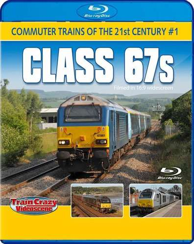 Commuter Trains of the 21st Century #1 - Class 67s. Blu-ray