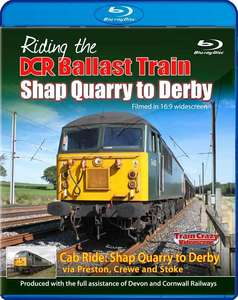 Riding the DCR Ballast Train - Shap Quarry to Derby - Blu-ray